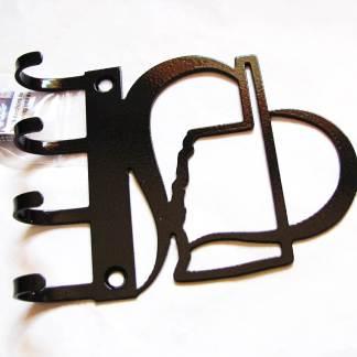 metal heart oklahoma wall hooks key hooks