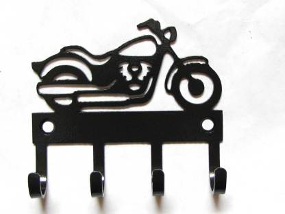metal motorcycle wall hooks