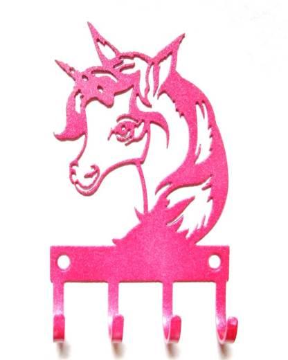 metal unicorn wall hooks, unicorn art