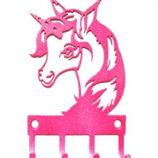 metal unicorn wall hooks, unicorn art