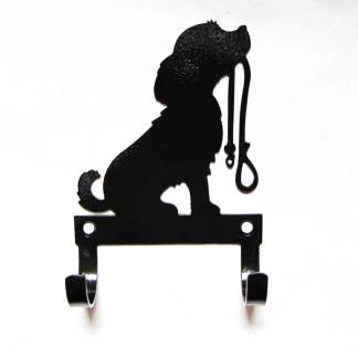 Puppy leash hooks