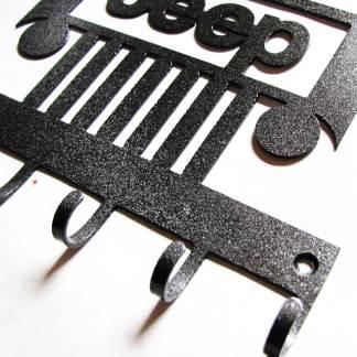 metal jeep wall hooks, jeep sign