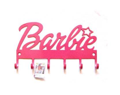 metal barbie wall hooks, barbie wall art, barbie sign