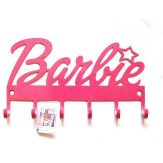 metal barbie wall hooks, barbie wall art, barbie sign