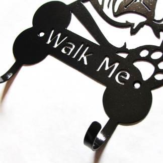 pug metal leash hooks leash holder