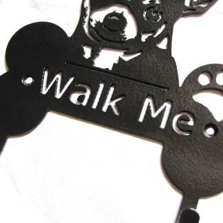 chihuahua metal leash hooks leash holders