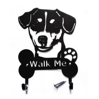 jack russe terrier metal leash hooks leash holder