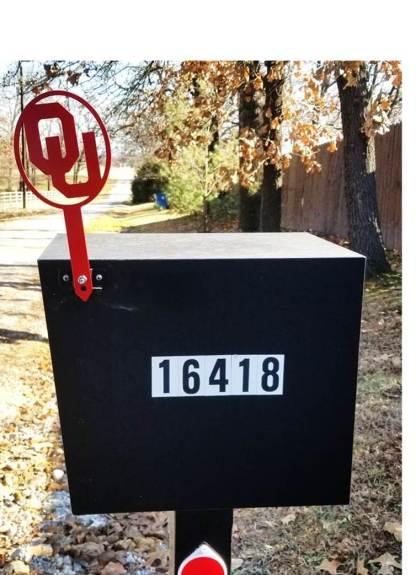ou mail box flag
