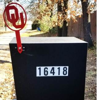 ou mail box flag