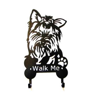 yorkie metal leash hooks leash holder