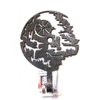 star wars death star metal wall hook