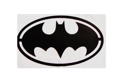 metal batman oval sign