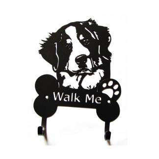 bernese metal leash hooks, leash holder
