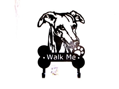 metal greyhound leash hooks leash holder