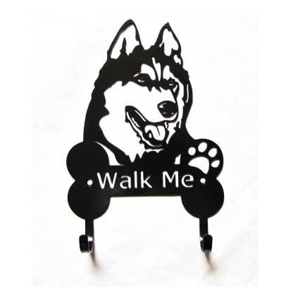 malamute metal leash hooks, leash holder
