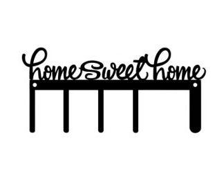 CUSTOM 5 Hooks Home Sweet Home