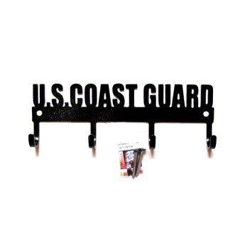 united states coast guard metal wall hooks