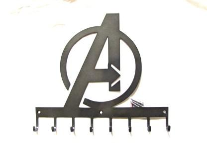 custom 8h avengers logo wall hooks