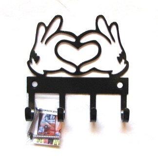 mickey hands metal wall hooks