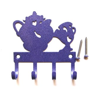 Mrs Potts and Chip Metal Wall Hooks