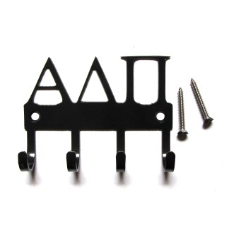 sorority alpha delta pi metal wall hooks