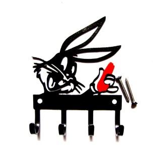 metal bugs bunny wall hooks