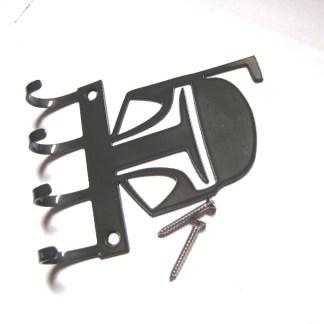metal mandalorian wall hooks