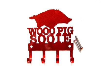 metal arkansas razorback woo pig sooie razorback wall hooks