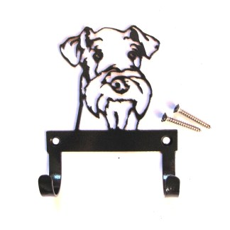 metal airedale terrier leash holder leash hooks