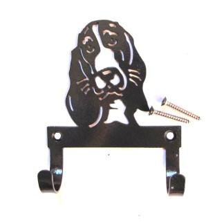 metal basset leash hooks leash holder