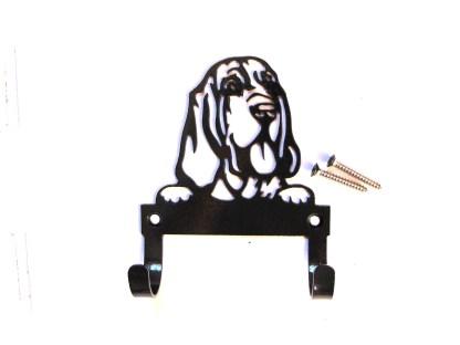 metal bloodhound leash hooks, leash holder