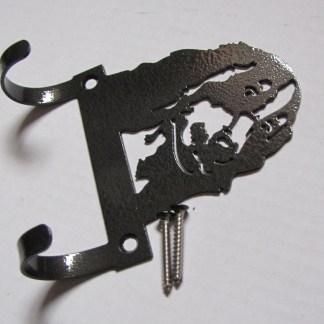 metal cocker spaniel leash hooks leash holder leash hanger