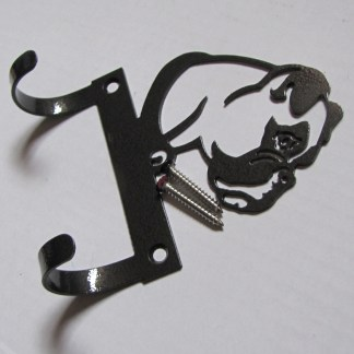 metal boxer leash hooks leash holder