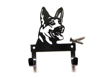 metal german shepherd leash holder leash hooks