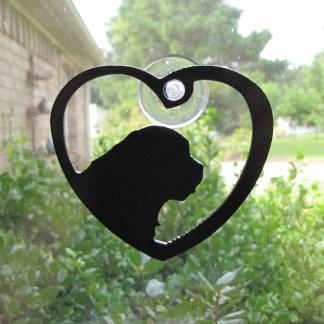Window Art Heart Newfoundland