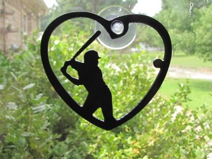 window art baseball