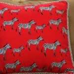 Cool and Funky Zebra Pillow