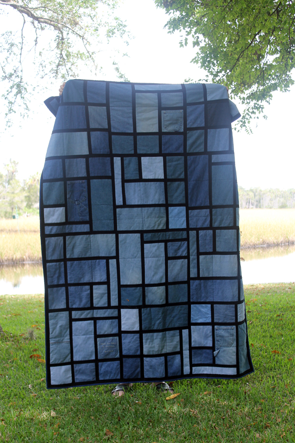 Denim Quilt for Riley