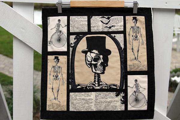 Mr. Bones Quilt Block