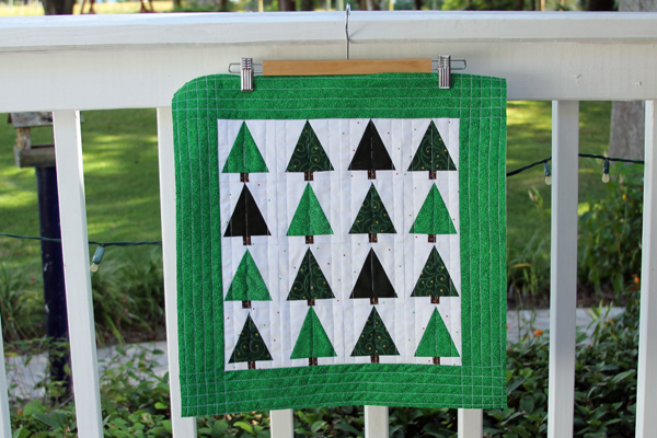 Forest Quilt from Purl Bee