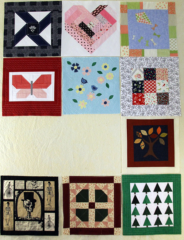 Only two blocks left for this quilt! Yippee!