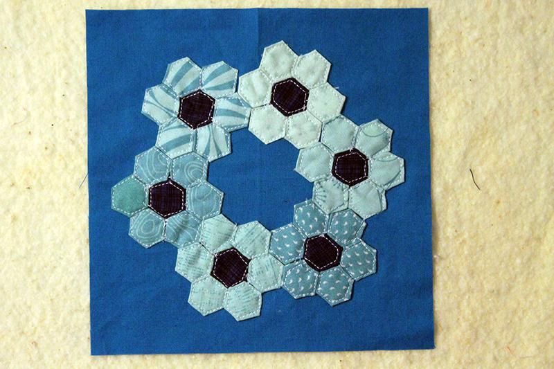 Block 36, Inchy Hexagon Club, The Splendid Sampler