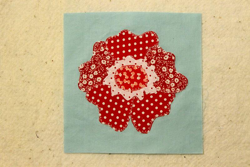 Block 68, Wild Rose, The Splendid Sampler