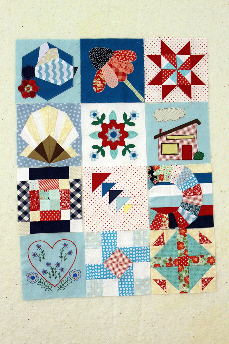 Splendid Sampler -- Week 21, Blocks 51 through 62