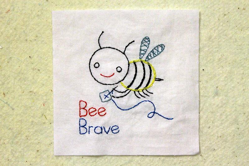 Bonus Block Bee Brave, The Splendid Sampler