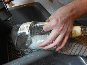 How to Make a Lamp with a Liquor Bottle 3