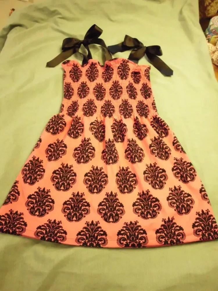 How to Use Elastic Thread to Make Smocked Fabric SANY0782