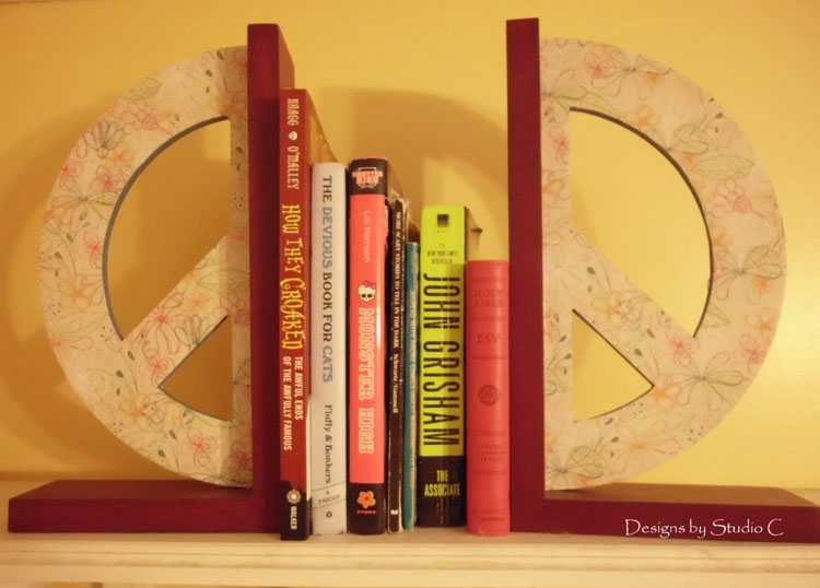 How to Make Peace Bookends SANY1087