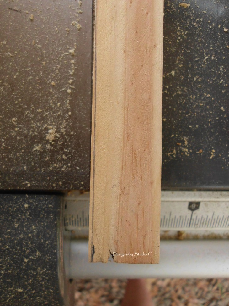 how to use a tapering jig on the table saw SANY1126