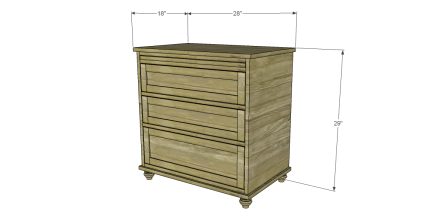Free Plans to Build a Pier One Inspired Ashworth Nightstand